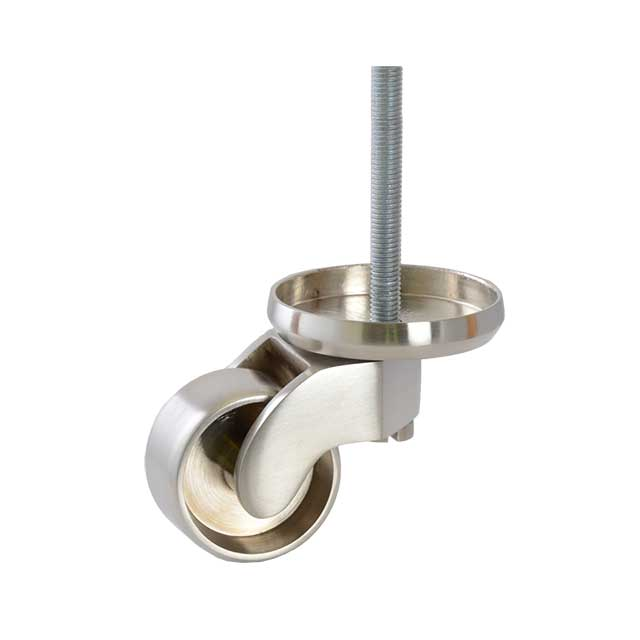 Clockwork Components Large Shallow Cup Castor Assembly (code: CAS259)
