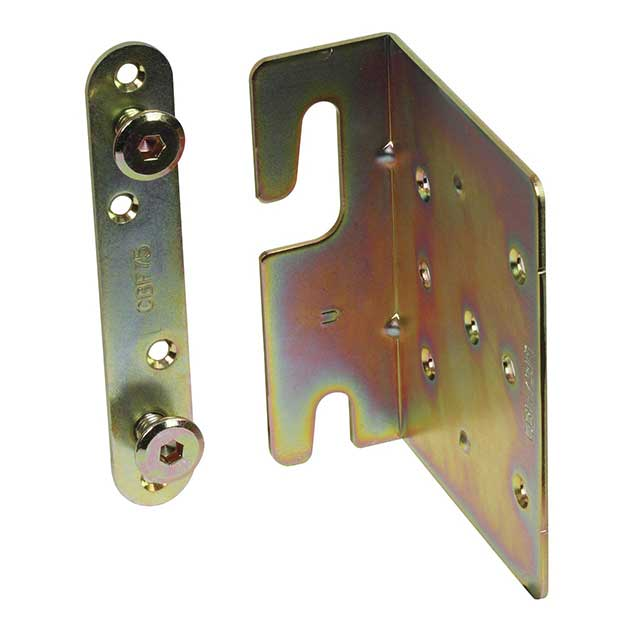 Clockwork Components Left Bed Corner Bracket (code: FIX072-L)