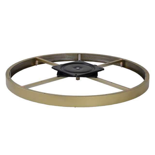 Clockwork Components Podstawa Ozdobna Okrągła z obrotnicą (code: RCM-6692GLD-M8)