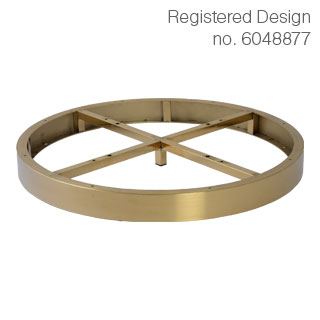 Clockwork Components Decorative Hoop (code: AL6529BBR)