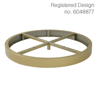 Clockwork Components Decorative Hoop (code: AL6529GLD)