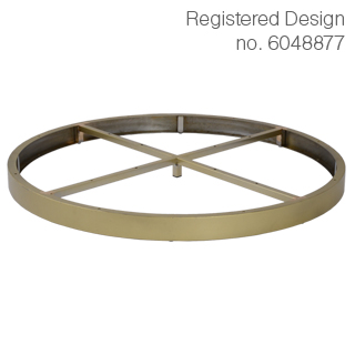 Clockwork Components Decorative Hoop (code: AL6692GLD)