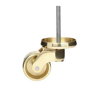 Clockwork Components Large Shallow Cup Castor Assembly (code: CAS255)