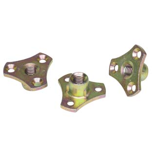 Clockwork Components D NUT with Flange (code: DNUT005)