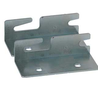 Clockwork Components Right Hand Bed Corner Bracket (code: FIX500-R)