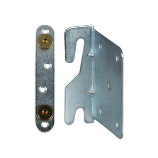 Clockwork Components Łącznik metal. Łóżka prawy (code: FIX572R-SET)