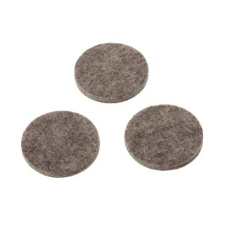 Clockwork Components 45mm Grey Felt Pad (code: FPSA045-G)