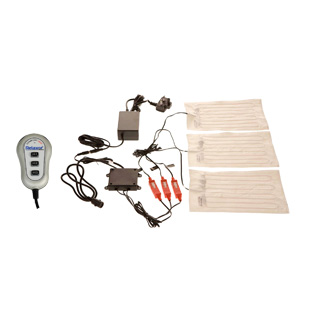 Clockwork Components System masażu 3 x Heat Pad System (code: JBR200)