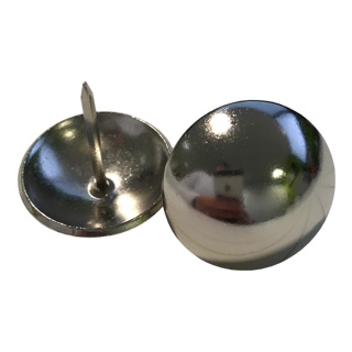 Clockwork Components 25mm Polished Steel Nail (code: N25-P)