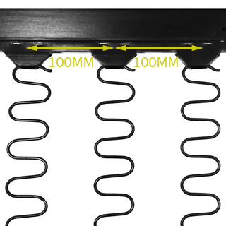 Clockwork Components In Frame Clip Strip (code: OKE4870-100)