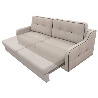 Clockwork Components Sofa Bed Mechanism (code: DL Sofa Bed)