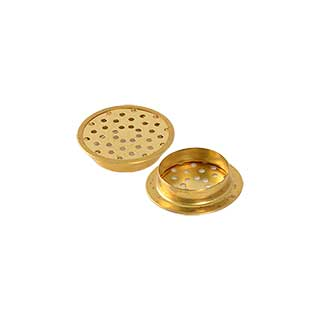 Clockwork Components Brass Mattress Vent (code: TL040-1)
