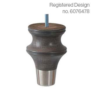 Clockwork Components Noga drewniana (code: WF6644DW01-C1153)