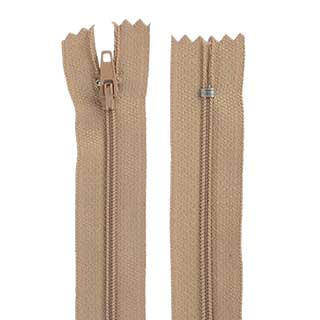 "Clockwork Components No.5 - 12"" Closed End Cut Length Zip (code: ZIP512BGCE)"