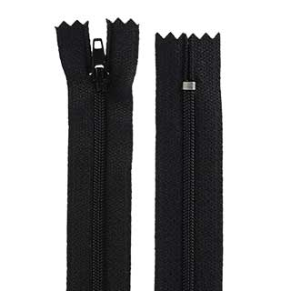 "Clockwork Components No.3 - 24"" Closed End Cut Length Zip (code: ZIP324BLCE)"