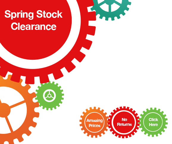 Spring Stock Clearance