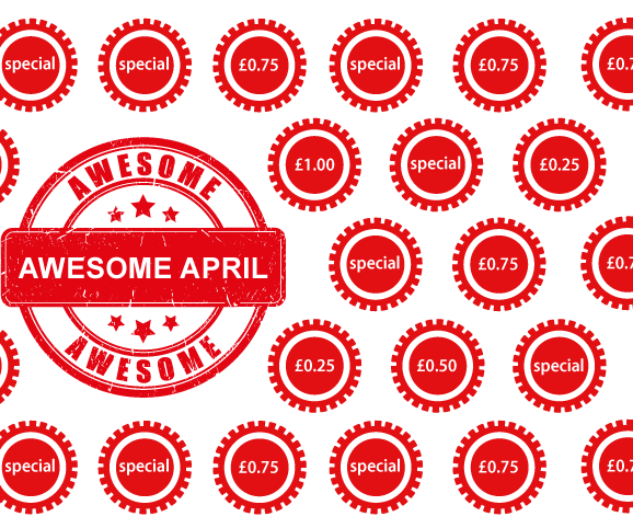 Awesome April Specials